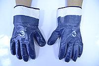 Перчатки-краги с полным нитриловым покрытием STARTUL