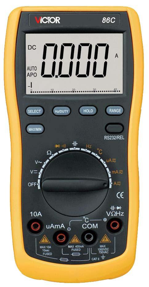 Цифровой мультиметр Victor 86С