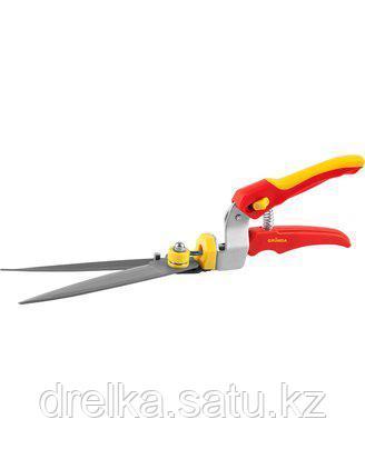 Ножницы садовые GRINDA для стрижки травы,пластмассовые ручки, поворотный механизм 180 гр, 8-422015_z01