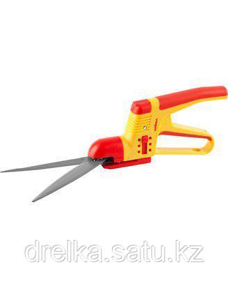 Ножницы садовые GRINDA для стрижки травы,2-х комп пластмас ручки с защитой,поворот мех-м 180 град., фото 2