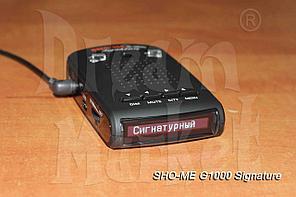 Sho-Me G-1000 Signature, база камер, GPS