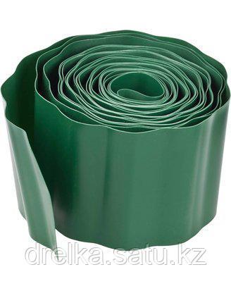 Лента бордюрная Grinda, цвет зеленый, 15см х 9 м, 422245-15