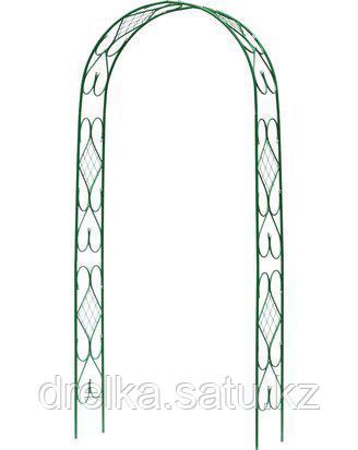 Шпалера арка GRINDA 422251, АР ДЕКО, разборная, 240х120х36см