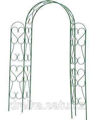 Шпалера арка GRINDA 422253, АМПИР угловая, разборная, 240х120х36см , фото 2