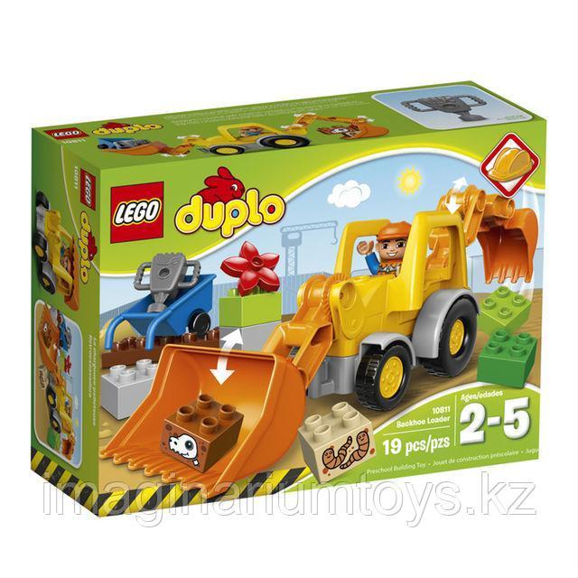 Конструктор LEGO DUPLO «Экскаватор–погрузчик»