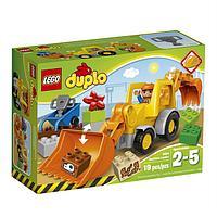 Конструктор LEGO DUPLO «Экскаватор–погрузчик», фото 1
