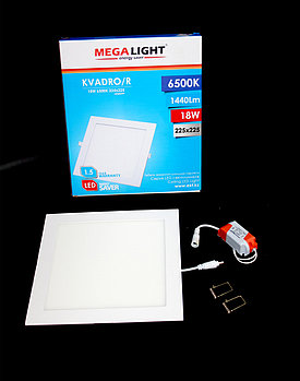 Светильник LED Спот встр. KVADRO/R 18w (MegaLight)