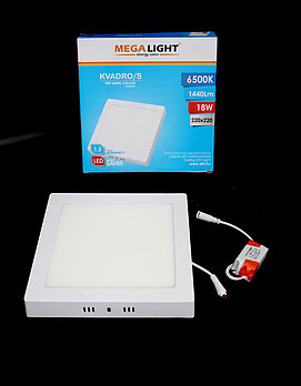 Светильник LED Спот накл. KVADRO/S 18w  (MegaLight)