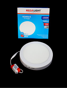 Светильник LED Спот накл. ROUND/S 18w  (MegaLight)