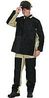 Костюм сварщика: куртка, брюки брезентовый со спилком (2,7 кв.м) тип Б, фото 1
