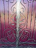 Металлические кованые ворота, фото 4