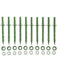 Колышки садовые GRINDA 200мм, цвет зеленый, 10шт