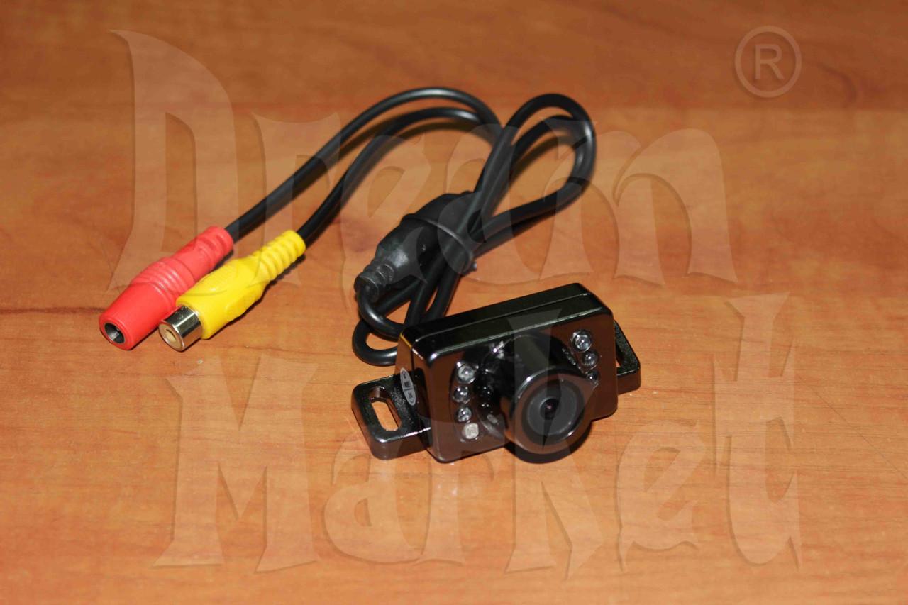Камера заднего вида N-1405B, цветная, с подсветкой, металлическая, универсальная