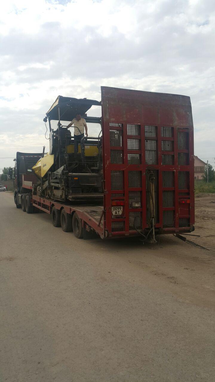 Аренда низкорамного трал 35 тонн