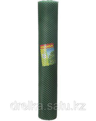 Сетка садовая Grinda, цвет хаки, 1,63х15 м, ячейка 18х18 мм, 422277