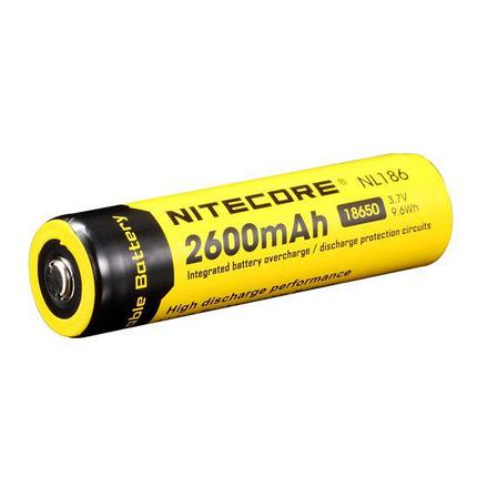 Аккумулятор NITECORE NL1826 (2600mAh) for Flashlights, фото 2