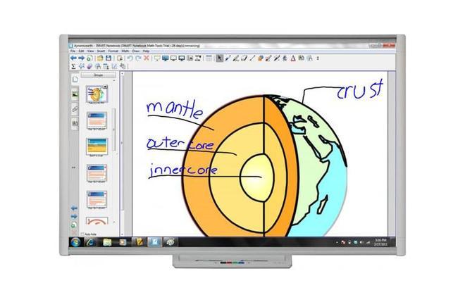 """Интерактивная доска SMART Board SBM685 (диагональ 87"""" / 221 cm), фото 2"""