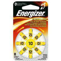 Элемент питания Energizer Hearing Zinc Air10 -8 штук в упаковке, фото 2