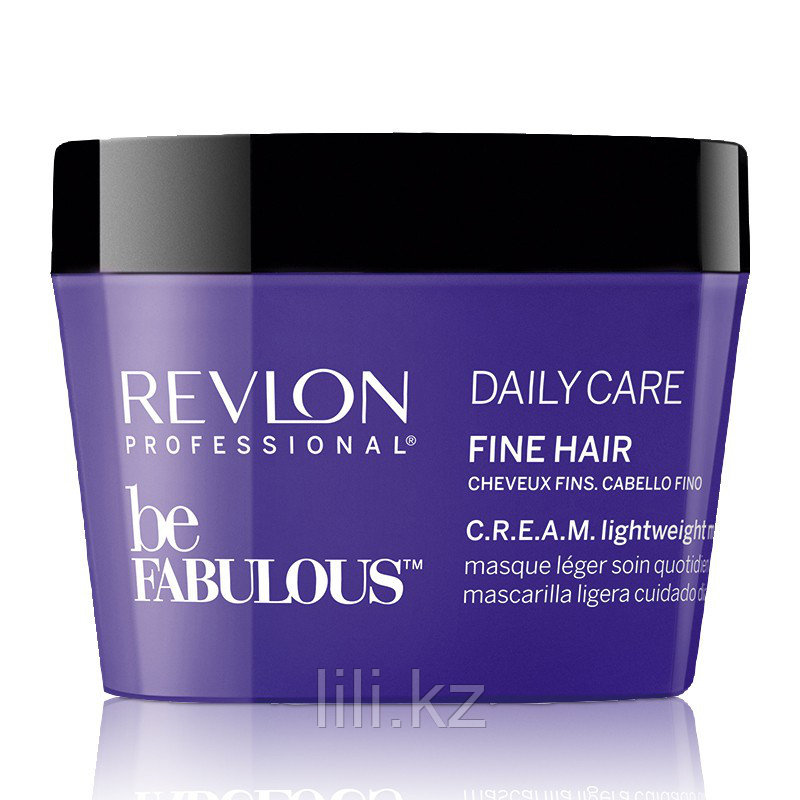 Маска для тонких волос Revlon Be Fabulous Daily Care Fine Hair Lightweight Mask 200 мл.