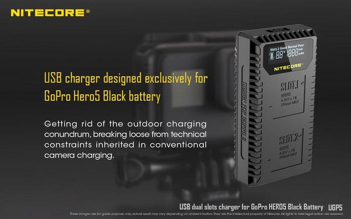 Зарядное устройство NITECORE UGP5, фото 2