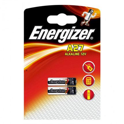 Элемент питания Energizer A27 -2 штуки в блистере, фото 2