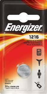 Элемент питания Energizer CR1216 -1 штука в блистере, фото 2