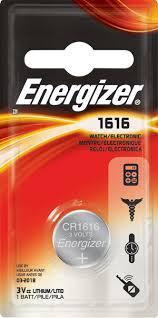 Элемент питания Energizer CR1616 -1 штука в блистере