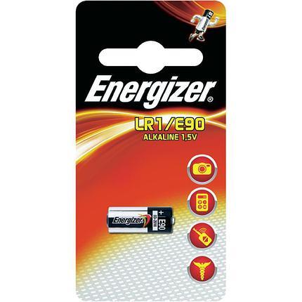 Элемент питания Energizer LR1 -1 штука в блистере, фото 2