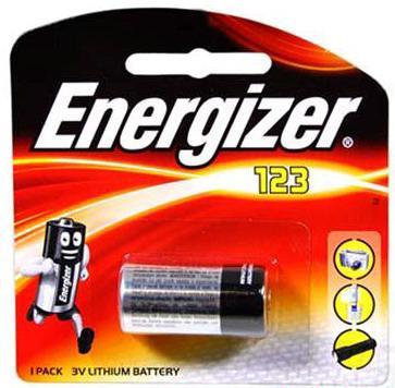 Элемент питания Energizer CR123A-CR1 - 1 штука в блистере