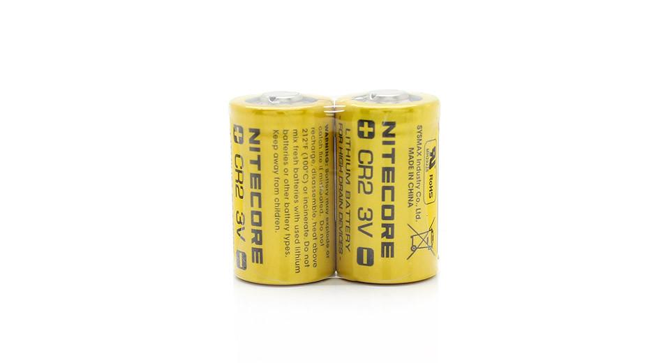 Элемент питания NITECORE CR2 Lithium Battery упак(2шт)