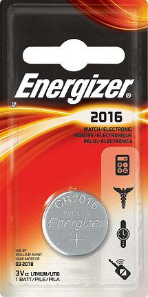 Элемент питания Energizer CR2016 -1 штука в блистере, фото 2