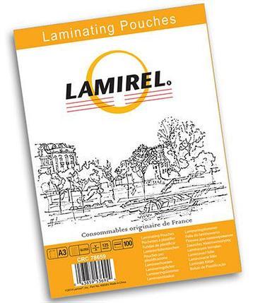Пленка для ламинирования Fellowes Lamirel А4, 100 мкм, 100 шт., фото 2