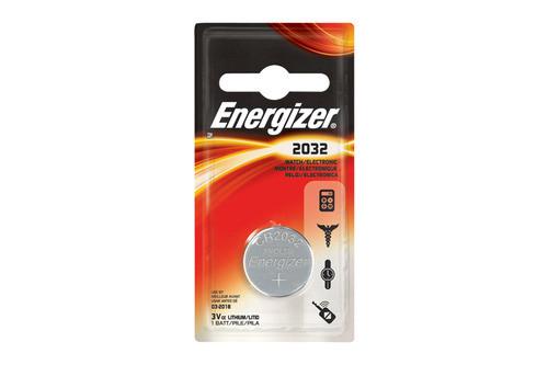 Элемент питания Energizer CR2032 -1 штука в блистере