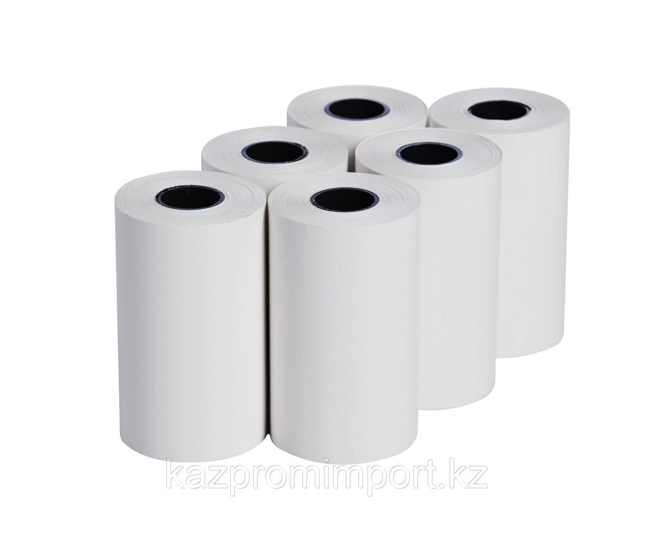 Запасная термобумага для принтера (6 рулонов)