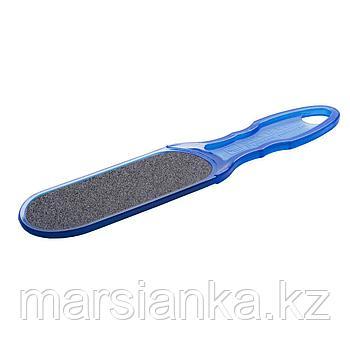 Терка для педикюра пластиковая Staleks 80/120 (синяя)