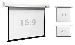 """Экран моторизированный Digis DSEF-1106 (Electra-F, формат 1:1, 112"""", 206x209) рабочая поверхность 200x200, MW"""