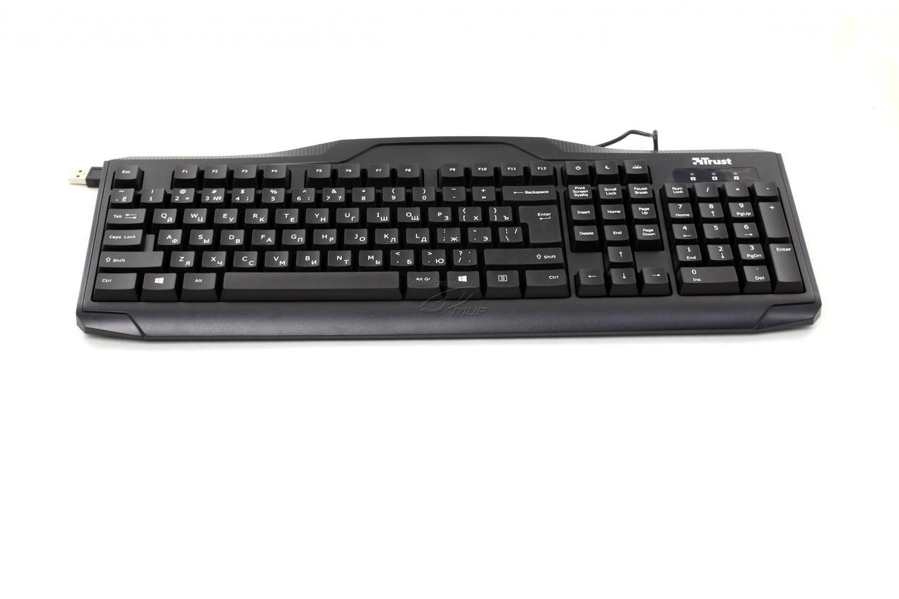 Клавиатура проводная Trust ru classicline Keyboard