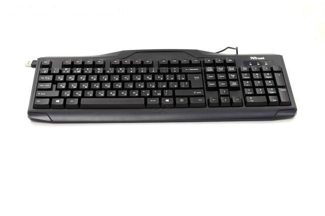 Клавиатура проводная Trust ru classicline Keyboard, фото 2