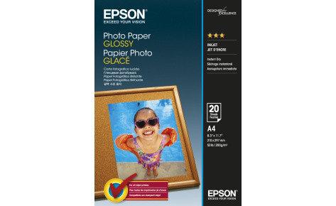 Фотобумага A4 Epson C13S042538 20 Л. 200 Г/М2 Glossy, фото 2