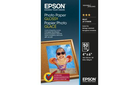 Фотобумага 10х15 Epson C13S042547 50 Л. 200 Г/М2 Paper Glossy, фото 2