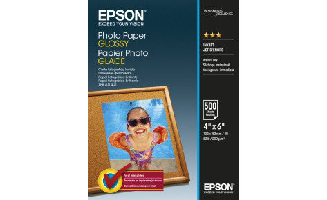 Фотобумага 10х15 Epson C13S042549 500 Л. 200 Г/М2 Glossy Paper, фото 2
