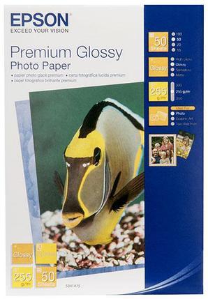 Фотобумага 13х18 Epson C13S041875 50 Л. 255 Г/М2 Premium Glossy Paper, фото 2