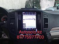 Магнитола в стиле Тесла Mitsubishi Pajero 4