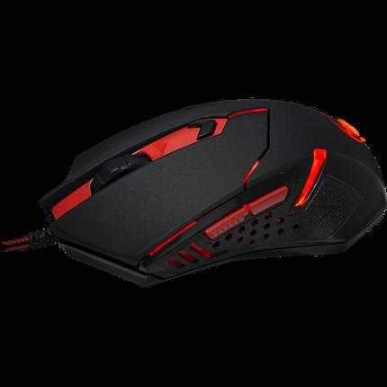 Мышь игровая Defender Centrophorus комбинированный (черный+красный), фото 2