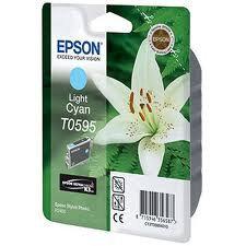 Картридж Epson C13T05954010 R2400 светло-голубой