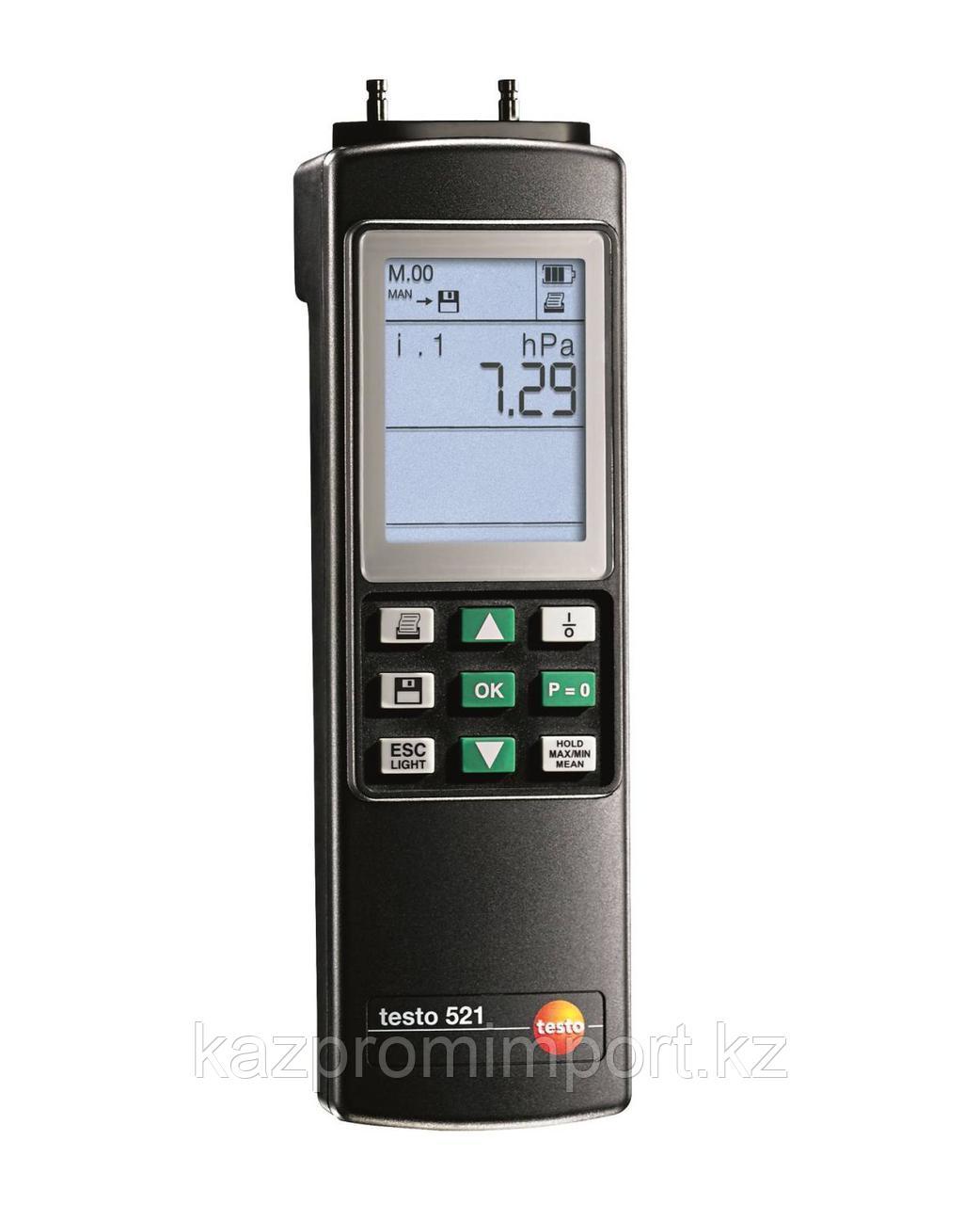 Testo 521-2 - Дифференциальный манометр