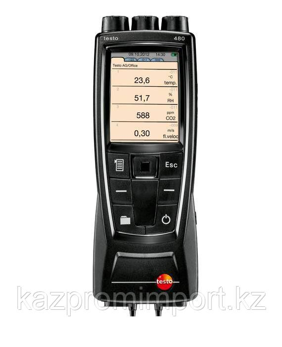 Testo 480 - Профессиональный измерительный прибор для систем ВКВ