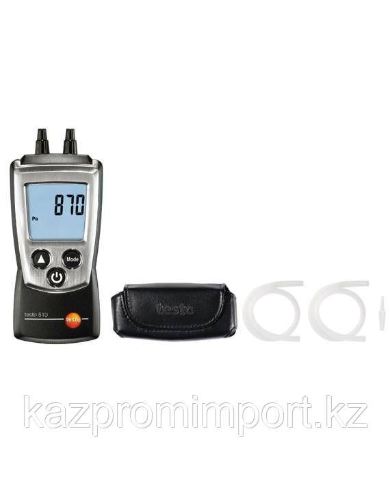 Комплект testo 510 - Карманный дифференциальный манометр