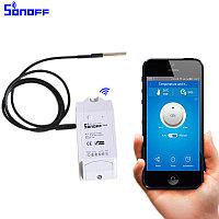 Sonoff TH10 умный Wi-Fi выключатель с терморегулятором DS18B20 и управлением смартфоном
