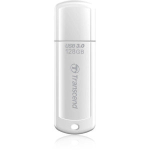 USB Флеш 128GB 3.0 Transcend TS128GJF730 белый, фото 2